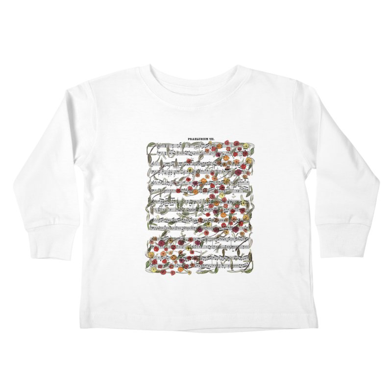 PRELUDE & FLOWERS Kids Toddler Longsleeve T-Shirt by gasponce