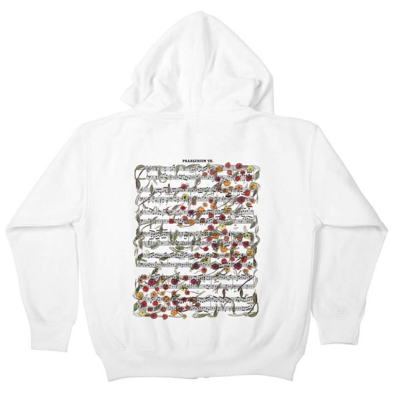PRELUDE & FLOWERS Kids Zip-Up Hoody by gasponce