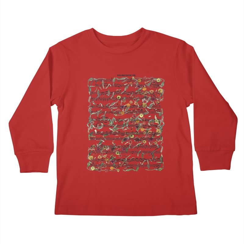 PRELUDE & FLOWERS Kids Longsleeve T-Shirt by gasponce