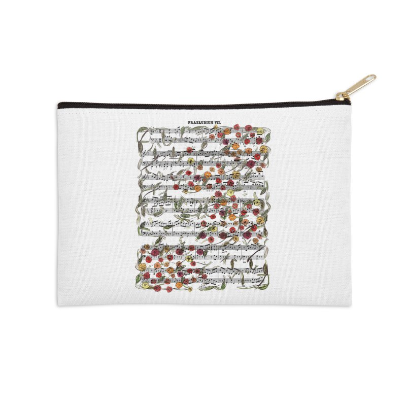 PRELUDE & FLOWERS Accessories Zip Pouch by gasponce