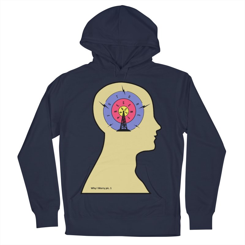 ICONIC ANXIETY! Women's Pullover Hoody by gasponce