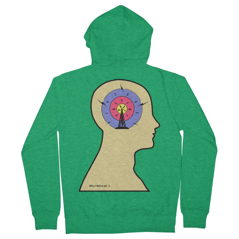 ICONIC ANXIETY! Women's Zip-Up Hoody by gasponce