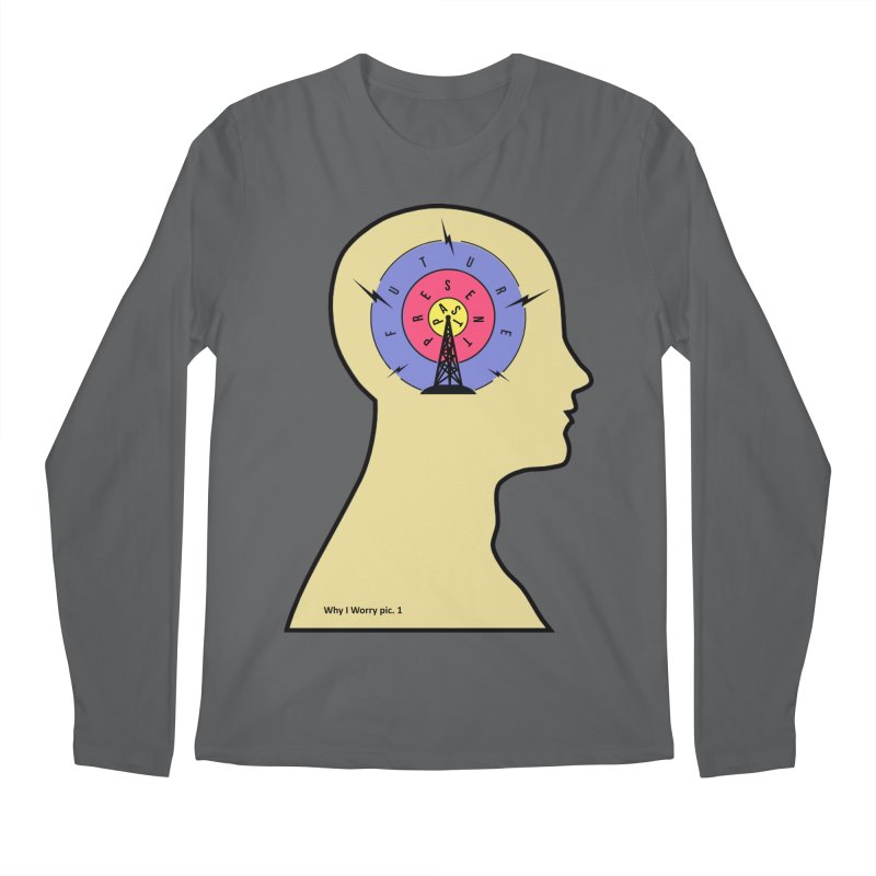 ICONIC ANXIETY! Men's Longsleeve T-Shirt by gasponce