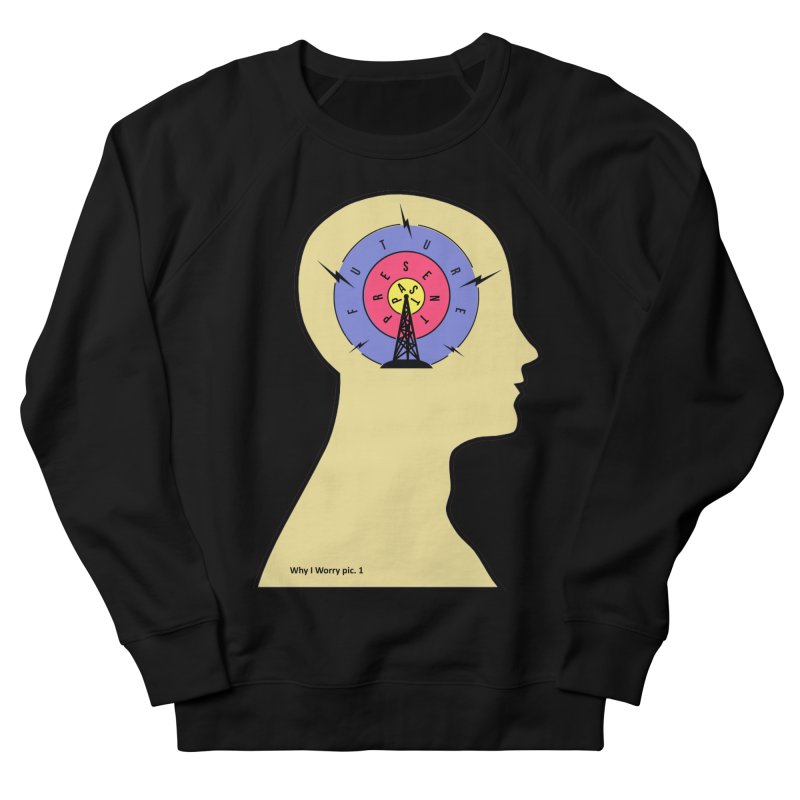 ICONIC ANXIETY! Men's Sweatshirt by gasponce