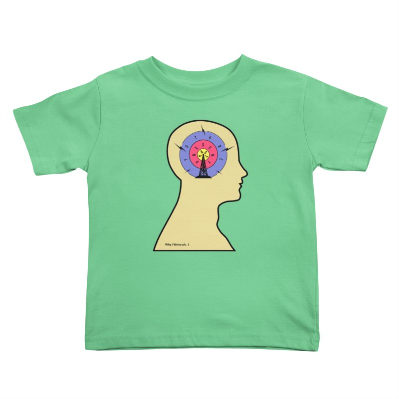 ICONIC ANXIETY! Kids Toddler T-Shirt by gasponce