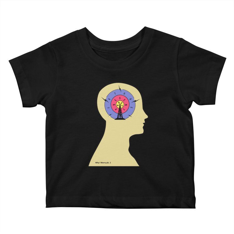 ICONIC ANXIETY! Kids Baby T-Shirt by gasponce