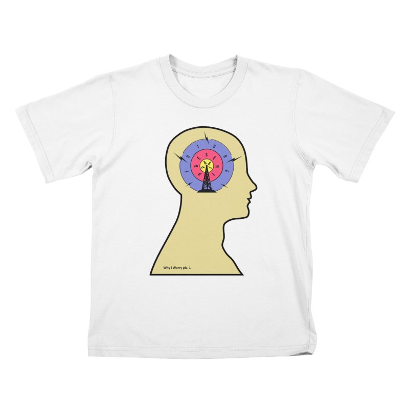 ICONIC ANXIETY! Kids T-shirt by gasponce