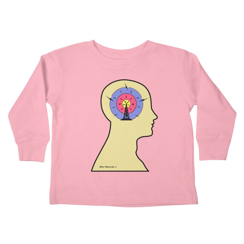 ICONIC ANXIETY! Kids Toddler Longsleeve T-Shirt by gasponce