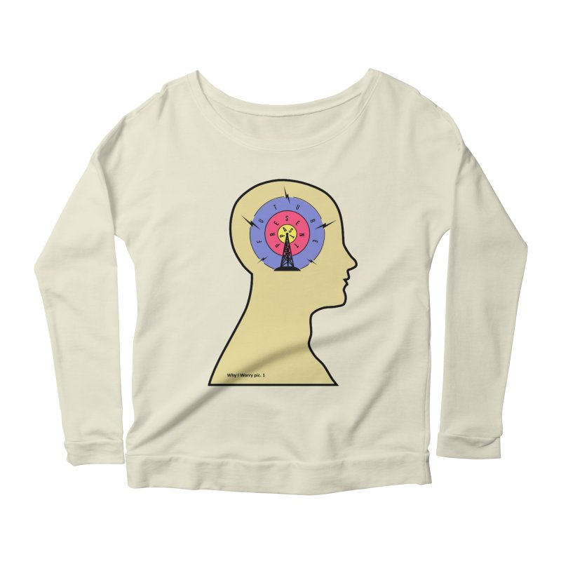 ICONIC ANXIETY! Women's Longsleeve Scoopneck  by gasponce