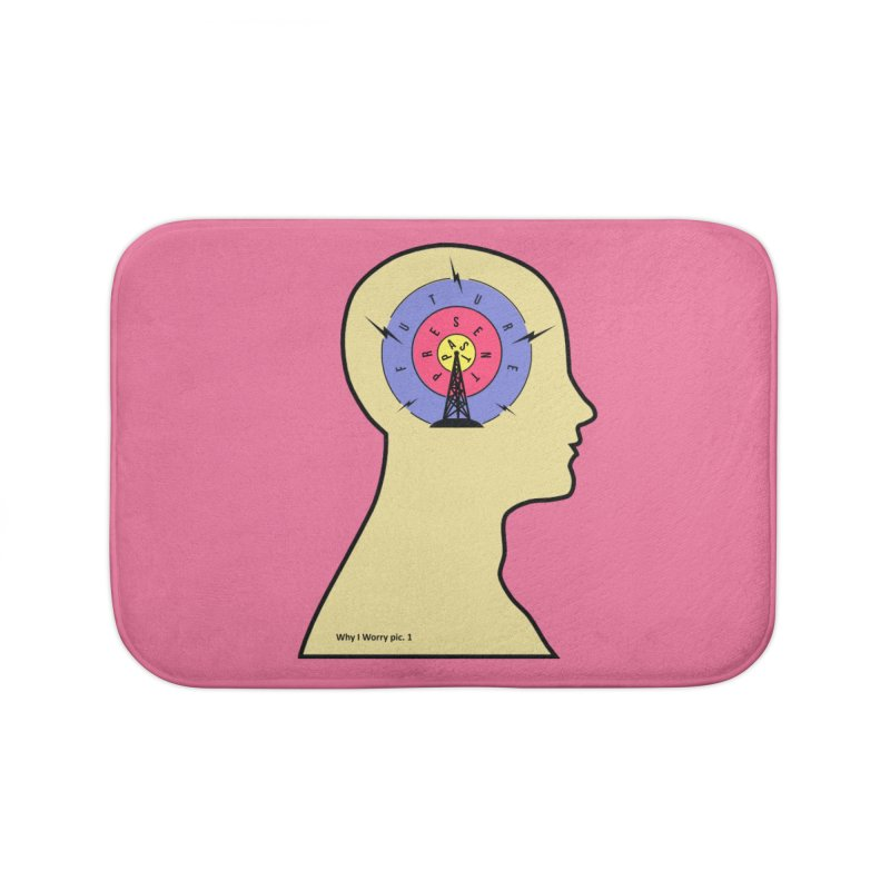 ICONIC ANXIETY! Home Bath Mat by gasponce