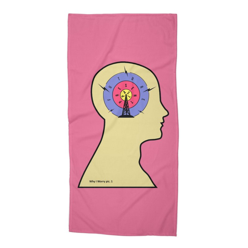 ICONIC ANXIETY! Accessories Beach Towel by gasponce