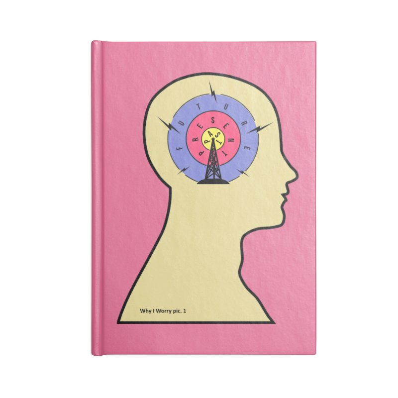 ICONIC ANXIETY! Accessories Notebook by gasponce