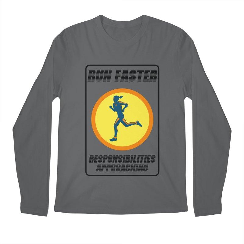 RUN FAST! Men's Longsleeve T-Shirt by gasponce