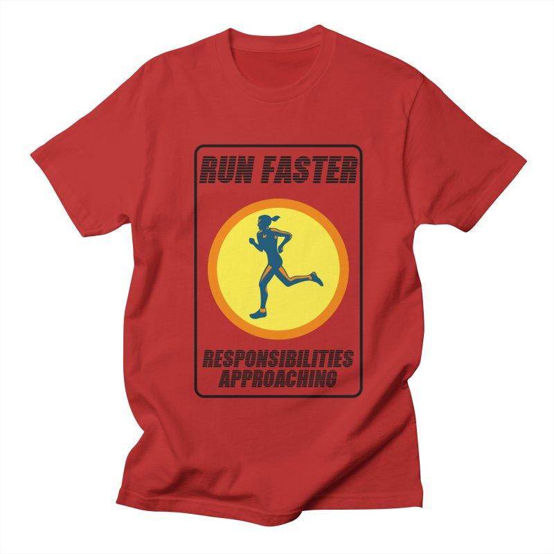 RUN FAST! Men's T-shirt by gasponce