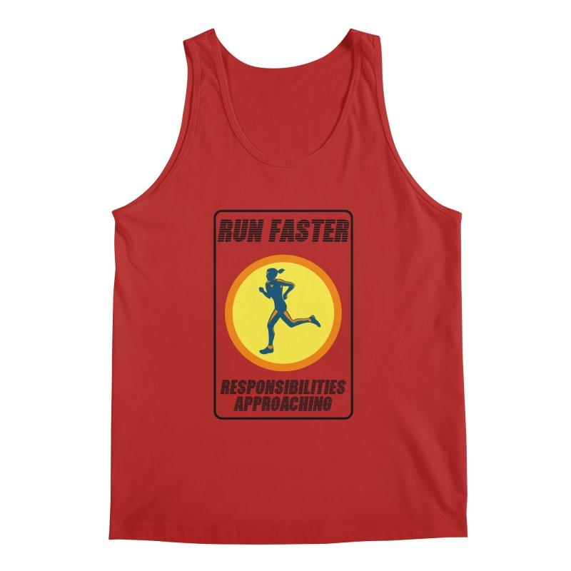 RUN FAST! Men's Tank by gasponce