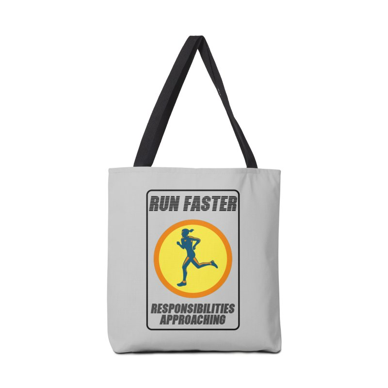RUN FAST! Accessories Bag by gasponce