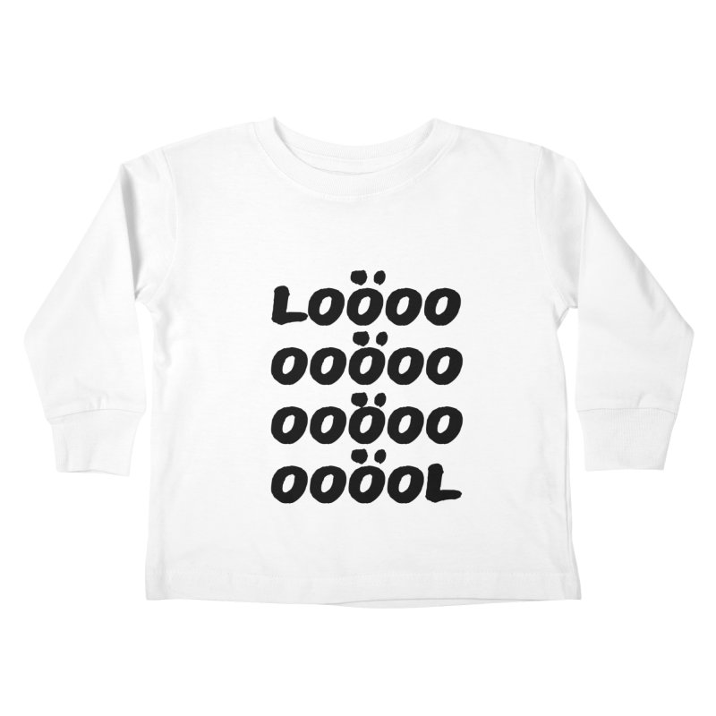 LOL Kids Toddler Longsleeve T-Shirt by gasponce
