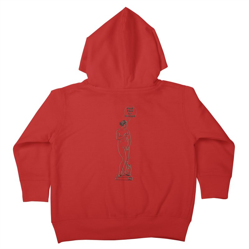 Aphrodite!2.0 Kids Toddler Zip-Up Hoody by gasponce
