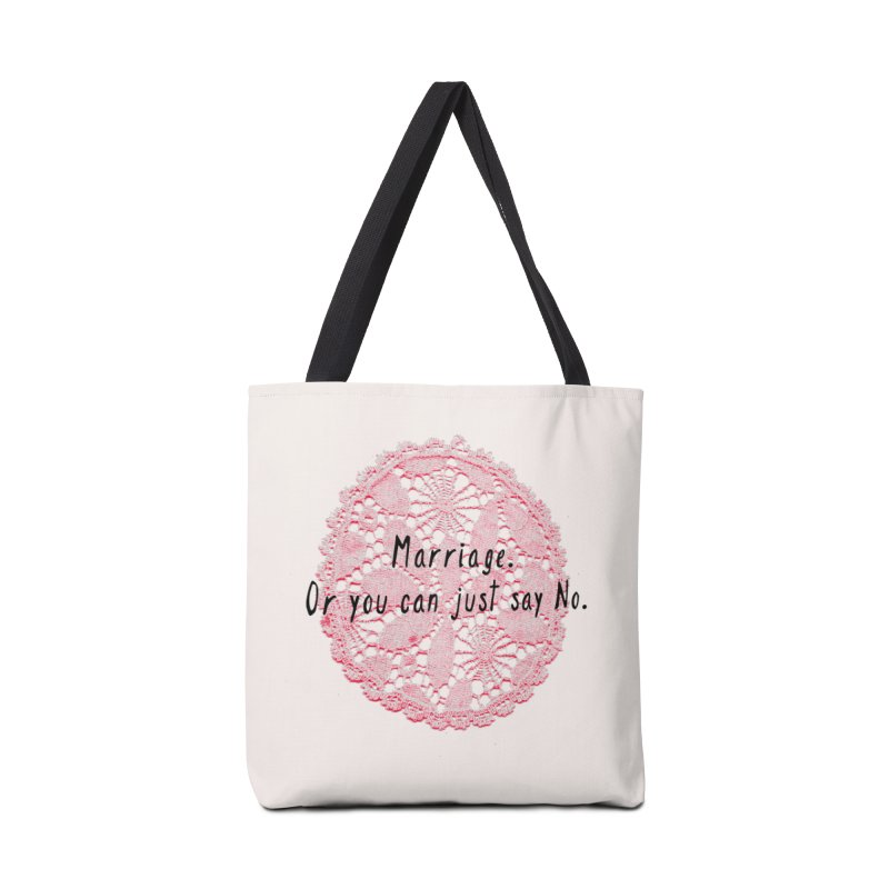 Love or Marriage! Accessories Bag by gasponce