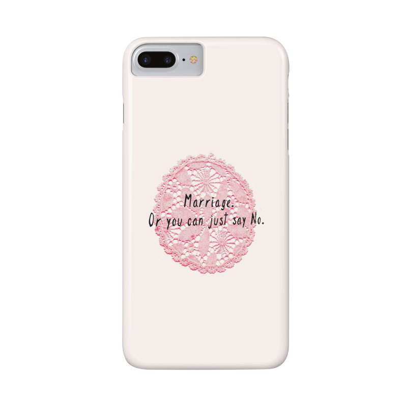 Love or Marriage! Accessories Phone Case by gasponce