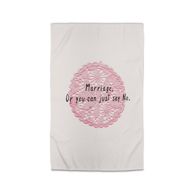 Love or Marriage! Home Rug by gasponce
