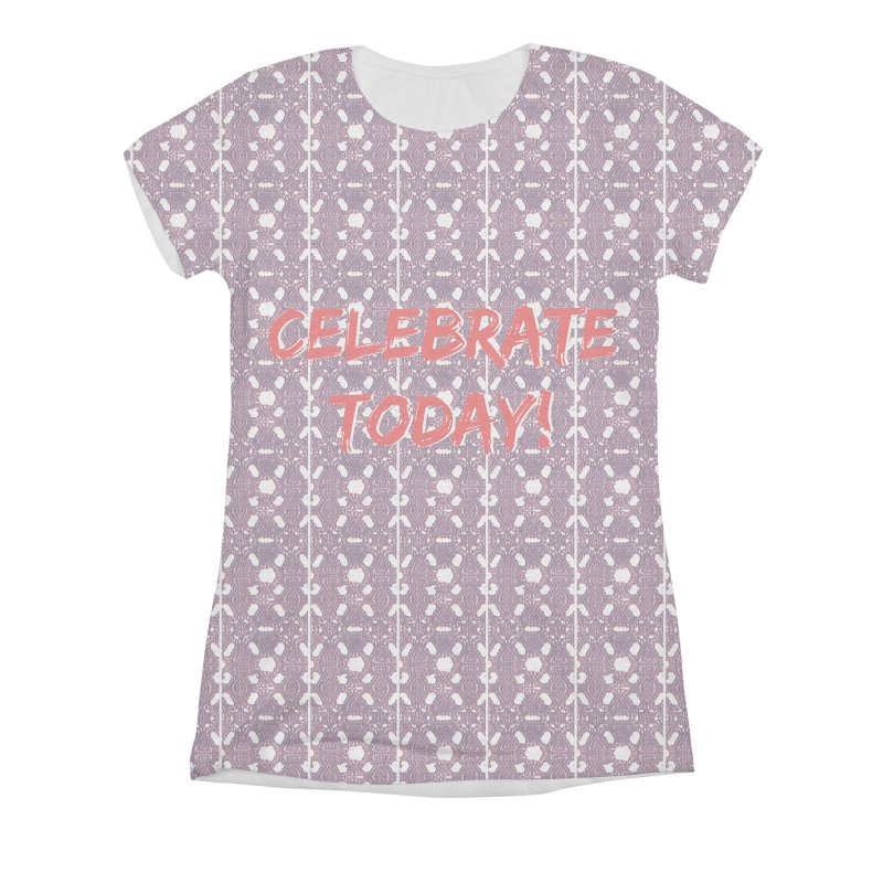 Celebration! Women's Triblend All Over Print by gasponce