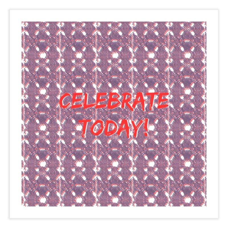 Celebration! Home Fine Art Print by gasponce
