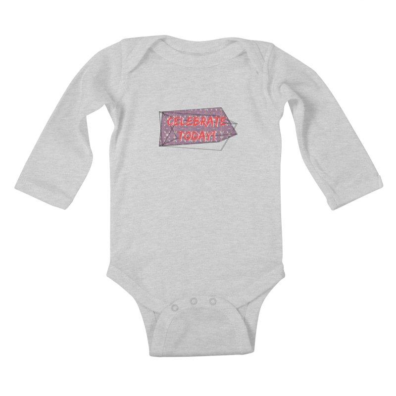 Celebration! Kids Baby Longsleeve Bodysuit by gasponce