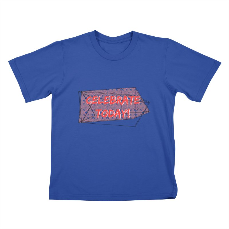 Celebration! Kids T-shirt by gasponce