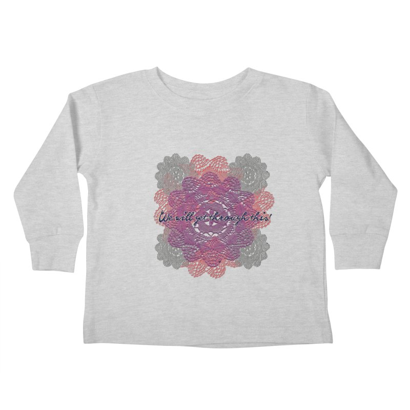 Dainty Survival Pack! Kids Toddler Longsleeve T-Shirt by gasponce