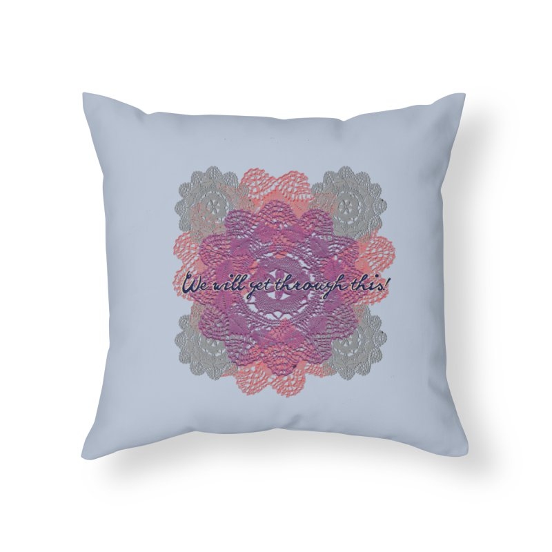 Dainty Survival Pack! Home Throw Pillow by gasponce