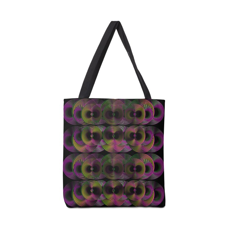 3d lp neon pat. Accessories Bag by gasponce