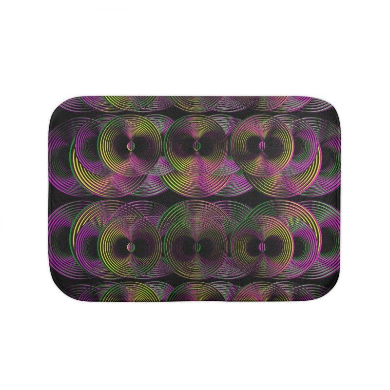 3d lp neon pat. Home Bath Mat by gasponce