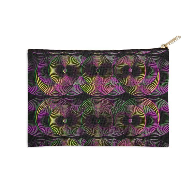 3d lp neon pat. Accessories Zip Pouch by gasponce