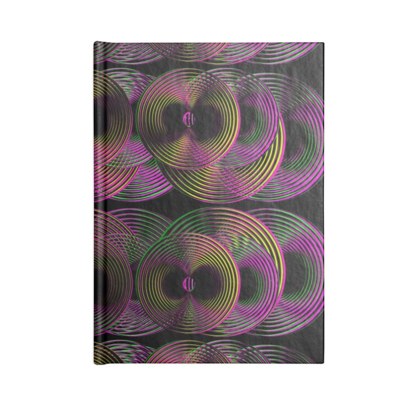 3d lp neon pat. Accessories Notebook by gasponce