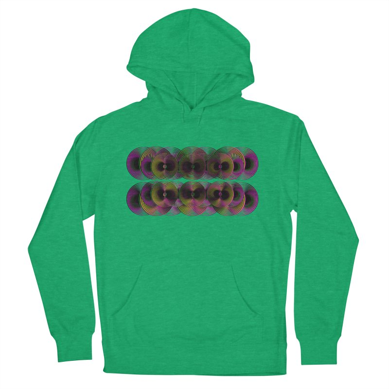 3d lp neon pat. Men's Pullover Hoody by gasponce