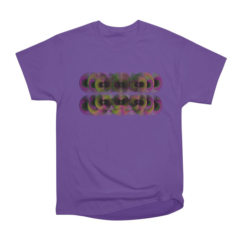 3d lp neon pat. Men's Classic T-Shirt by gasponce