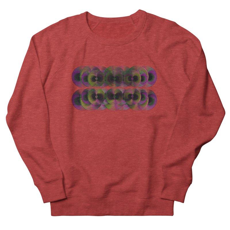 3d lp neon pat. Women's Sweatshirt by gasponce