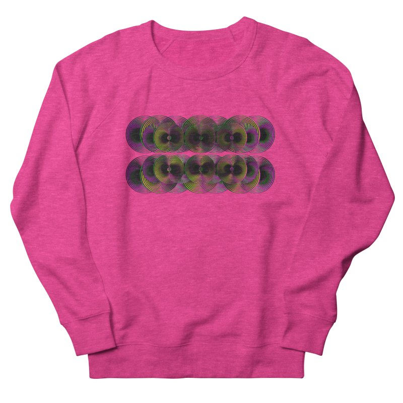 3d lp neon pat. Men's Sweatshirt by gasponce