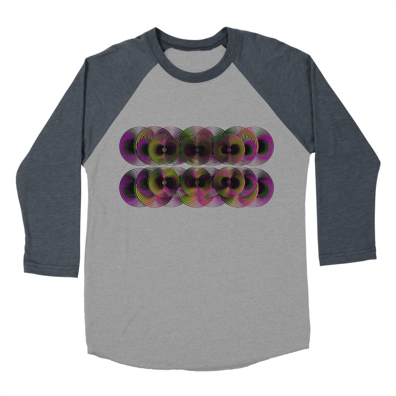 3d lp neon pat. Men's Baseball Triblend T-Shirt by gasponce