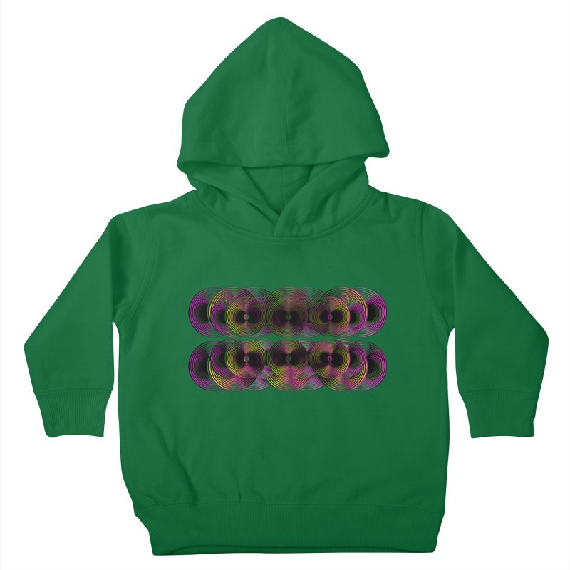 3d lp neon pat. Kids Toddler Pullover Hoody by gasponce