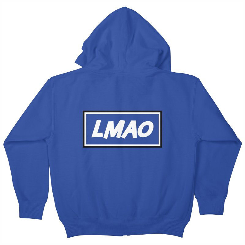 LMAO! Kids Zip-Up Hoody by gasponce