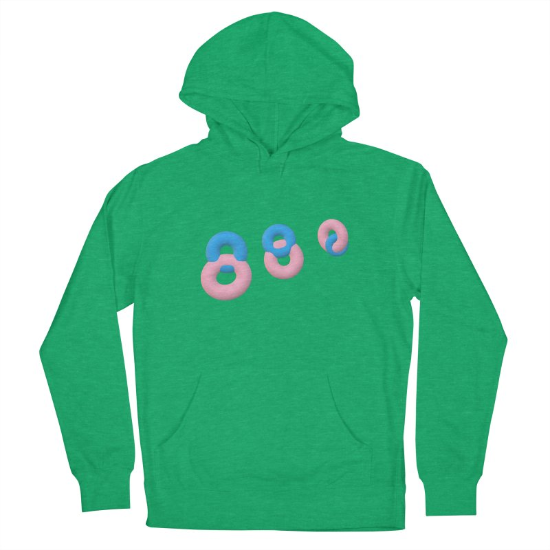 Minimal donuts! Women's Pullover Hoody by gasponce
