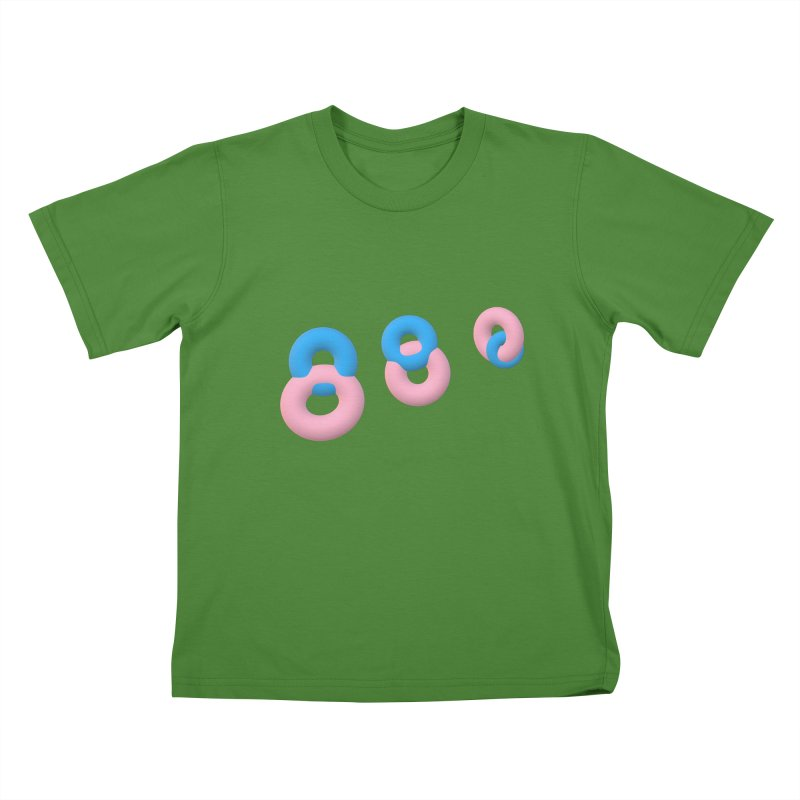 Minimal donuts! Kids T-shirt by gasponce