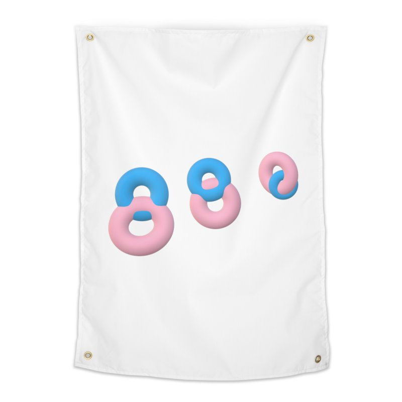 Minimal donuts! Home Tapestry by gasponce