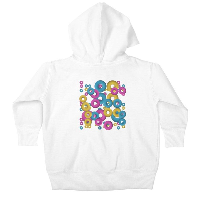 minimalist Fruity loops! Kids Baby Zip-Up Hoody by gasponce