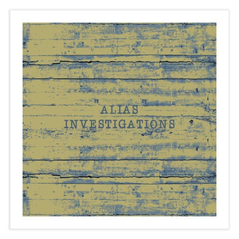 """""""alias"""" Home Fine Art Print by gasponce"""