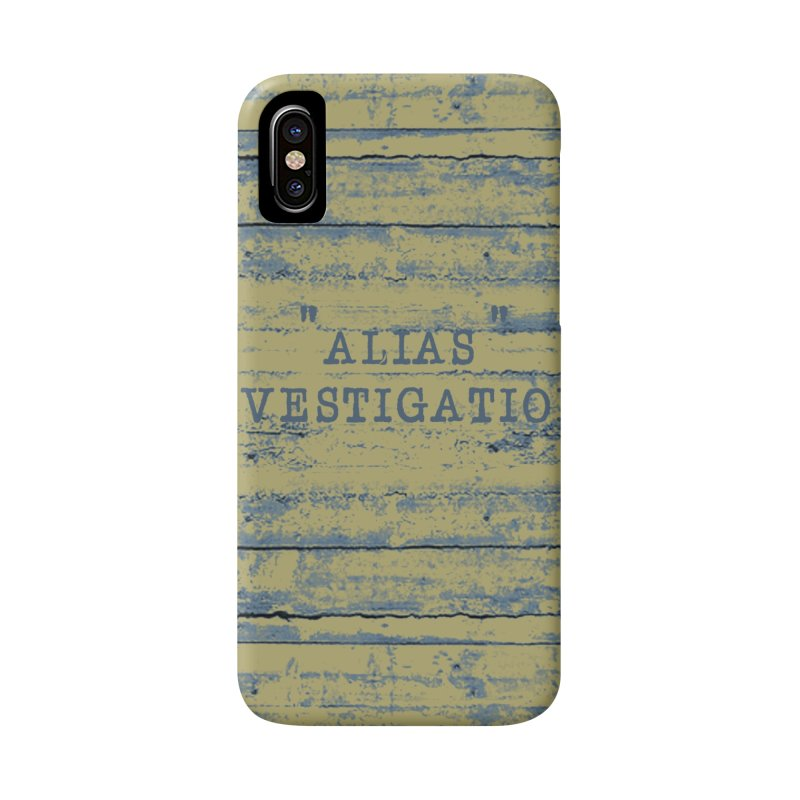 """""""alias"""" Accessories Phone Case by gasponce"""