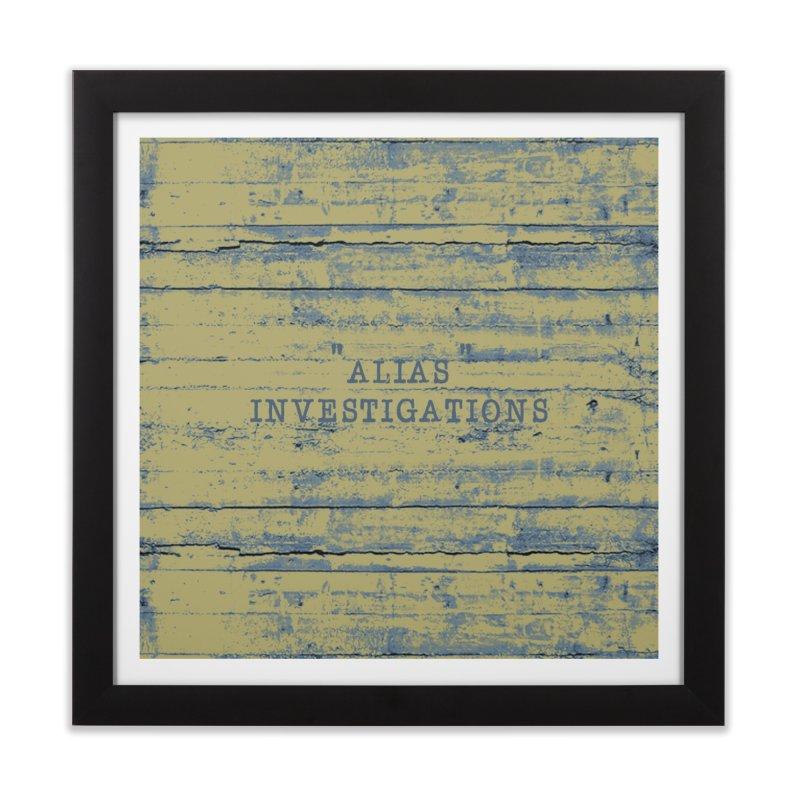 """""""alias"""" Home Framed Fine Art Print by gasponce"""