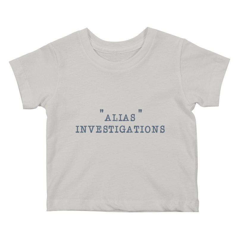 """alias"" Kids Baby T-Shirt by gasponce"